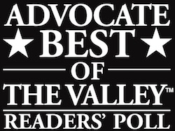 Best of the Valley award
